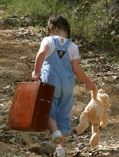 I don't know about YOU, but I have thought about running away from HOME way more often as an ADULT, than I ever did as a KID!!!