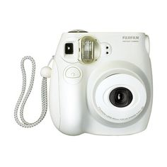 C mera Instant nea Instax Mini 7S Branca com Lentes Fujinon,... ❤ liked on Polyvore featuring fillers, camera, accessories, electronics, other and magazine