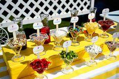 ice cream bar :) yum yum