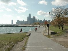 Chicago Lakefront Trail... best spot for a long training run