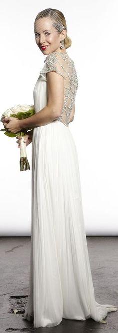 The Wedding Dress {a Glimpse} by Brooklyn Blonde