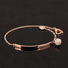 Bracelet OL Style CZ Diamond Ball Fashion Party Charm Bracelets & Bangles Rose Gold Plated Crystal Jewelry For Women pulseras Jewelry Bracelets Jewelry Gifts, Jewelry Accessories, Women Jewelry, Jewelry Ideas, Handmade Jewelry, Bridal Jewelry, Diamond Bracelets, Diamond Jewelry, Charm Bracelets