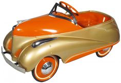 Steelcraft Zephyr Pedal Car  --- I had a car something like this when I was little only mine was red and not orange