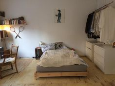 available for sale Bedroom Layouts, Bedroom Styles, Tiny House Furniture, Small Space Living, House Rooms, Home Bedroom, Decoration, Room Inspiration, Room Decor
