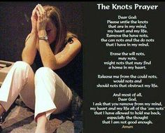 Prayer to Mary; Un-doer of Knots