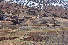 Fruchtbare Erde im Aït Bouguemez, Hoher Atlas, Marokko Grand Canyon, City Photo, Nature, Travel, Mountain Landscape, Mountain Range, Morocco, Earth, Hiking