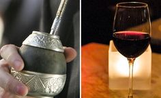 Yerba Mate and Malbec!  Location, Libation, Libation  A tale of two quintessential Argentine beverages: wine and yerba mate. http://www.slate.com/articles/life/drink/2012/09/argentine_wine_and_yerba_mate_a_history_of_the_two_quintessential_beverages_of_argentina_.html#