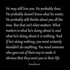 Quotes about Missing : Someone who shows you they want you