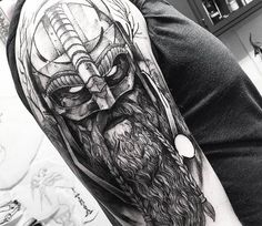 Viking tattoo by Fredao Oliveira