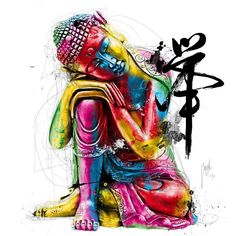 ❖  Buddha      Zen'attitude / Art by Patrice Murciano