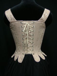 18th Century Corset Reenactment Marie Antoinette by PeriodCorsets, $455.00