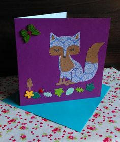 Items similar to Set of 3 Handmade Fox Cards. on Etsy Card Birthday, Birthday Greeting Cards, Fox, Unique Jewelry, Handmade Gifts, Crafts, Etsy, Vintage, Kid Craft Gifts