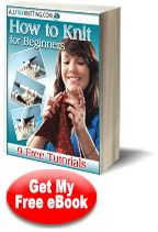 Free Knitting Patterns with AllFreeKnitting: How to Knit for Beginners: 9 Free Tutorials eBook