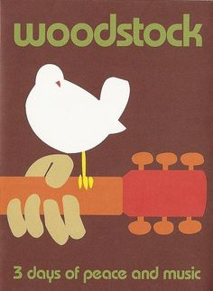 Uploaded by Jade S. Find images and videos about music, peace and woodstock on We Heart It - the app to get lost in what you love. Hippie Peace, Hippie Love, Hippie Style, Woodstock Poster, Woodstock Photos, Woodstock Bird, Festival Posters, Concert Posters, Ozzy Osbourne