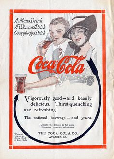 consider coca cola advertising throughout its history 2016 saw coca-cola change its much celebrated philosophy how the brand continues to evolve in its marketing it created history by associating with.