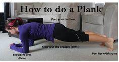 How to plank. www.fitnesspod.im