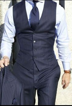Pinstripe  Bespoke always look sharp