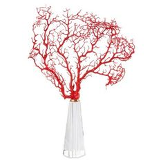 """Check out this item at One Kings Lane! 16"""" Sea Fan on Crystal Base"""