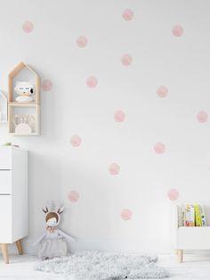 Polka Dot Walls, Polka Dot Wall Decals, Wall Decal Sticker, Polka Dots, Diy Room Decor, Nursery Decor, Bedroom Decor, Wall Decor, Home Decor