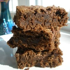 These gluten-free brownies are the best. My husband recently requested them for his birthday instead of birthday cake.