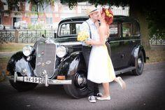 Jani & Marek & jejich retro svatba » barulaphoto.com Portrait, Vintage Cars, Our Wedding, Photos, Weddings, Retro, Engagement, Photography, Antique Cars