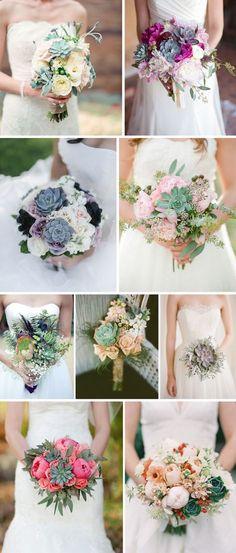 Para decorar: Suculentas | Mariée: Inspiração para Noivas e Casamentos