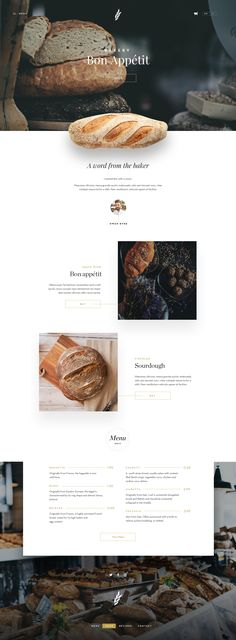 Website Design Layout, Website Design Company, Web Layout, Layout Design, Bakery Website, Restaurant Website Design, Food Website, Best Restaurant Websites, Logo Restaurant