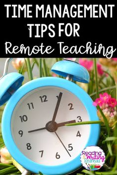 Reading and Writing Redhead: Time Management Tips for Remote Teaching