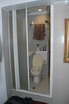 Combination sink toilet fixture bathroom, Prefab