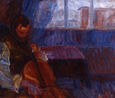 ♪ The Musical Arts ♪ music musician paintings - Thorvald Erichsen - Cellospiller Dance Music, Art Music, Still Life, Musicals, Museum, Paintings, Portrait, Artist, Cello