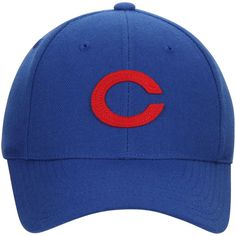 0462907413144 Chicago Cubs American Needle Cooperstown Fitted Hat - Royal