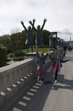 Vigeland Sculpture Park in Oslo, Norway We are going to go to this park while in Norway! Can't wait.
