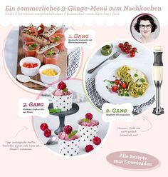 Ein sommerliches 3-Gänge-Menü zum Nachkochen mit Frau Herzblut und dem Stabmixer von KitchenAid