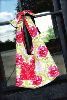 BOHO Sling Bag Tutorial DIY by MiaMaiM