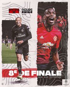 Champions League GameDay: Round of 16 between MU and PSG Design Websites, Online Web Design, Web Design Services, Psg, Soccer Pro, Basketball Players, Soccer Locker, Soccer Stats, Soccer Guys