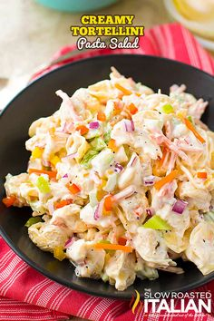 Creamy Tortellini Pasta Salad