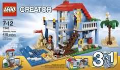 LEGO Creator 7346 Seaside House - you can have your  own beach house, albeit a Lego one!!!
