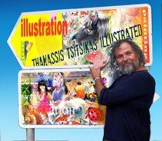 """Thanassis Tsitsikas               """"illustrated"""":"""