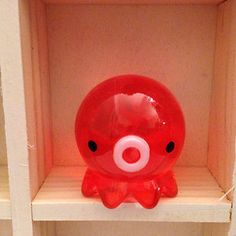 Takochu TAKO Japanese Octopus Clear Cherry Red Kawaii Figure Cute Charm | eBay
