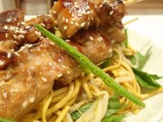 Chinese Noodles & Chicken Teriyaki
