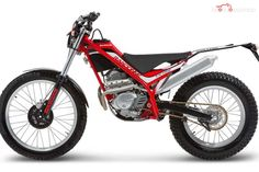 A 'crossover' bike in the mould of KTM's Freeride range, but one which is more skewed towards the moto trials arena Trial Bike, Car Engine, Dirt Bikes, Offroad, Yamaha, Motorcycles, Vehicles, Ads, Trials