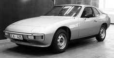 Porsche 924 1974: the project is still called as EA 425, but this is already the final look of the future Porsche 924
