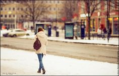 Snow with zeiss mood! by Aziz Nasuti on Snowy Day, Street Photography, Hipster, Zeiss, Couple Photos, City, Mood, Beautiful, Style