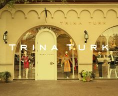 TrinaTurk Storefront Signage, Highland Park Village, Dallas Texas, Trina Turk, Window Shopping, Store Fronts, Spaces, Live, Create