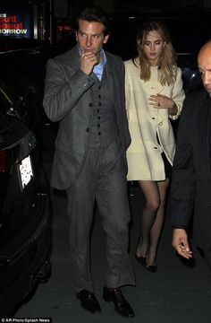Suki Waterhouse supported Bradley Cooper at his debut performance of 'The Elephant Man' on Broadway.  (December 7, 2014)