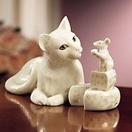 Making Friends Cat & Mouse Sculpture  Another of my favorites!