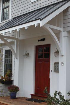 Simple Front Door Portico