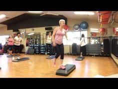 Basic Step Aerobics Exercise Class- Full Version - YouTube