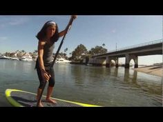 Suzanne Yeo - She's money on the board...Great tips for beginners. XO    #SUP, #NEXTBYATHENA, Paddleboard, SUP, #paddleboard, Stand Up Paddle Board    www.paddlesurfwarehouse.com