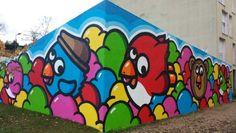 #street-art #lyon #birdykids #pierre-benite